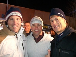 Rick and Belforti Bros at Chiefs Pats MNF